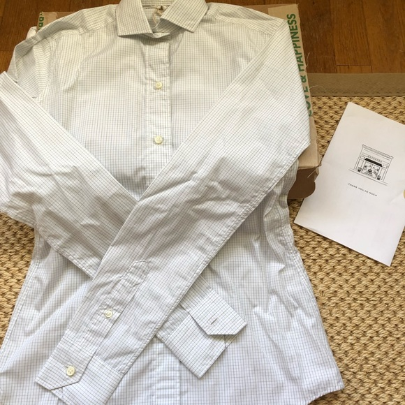 e4babe20 Ann Mashburn Tops | Nwt Icon Spread Buttondown Shirt Xs | Poshmark